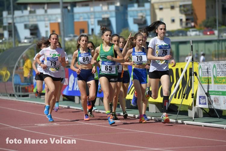 I 1000m Cadette con Rebecca Bertolini (n.65)