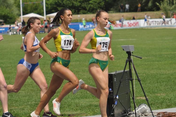 Elisa Ducoli e Sophia Favalli fanno doppietta sui 1500m (foto P. Tagliapietra)