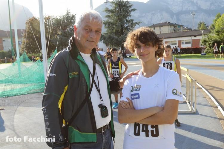 Roberto Romeo con Giulia Bianchi (foto Facchini)