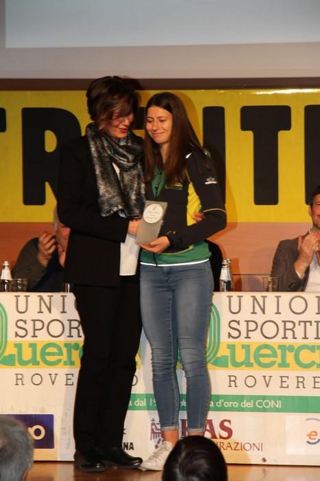 "Lisa Bona riceve il premio ""Adriano Galli"""
