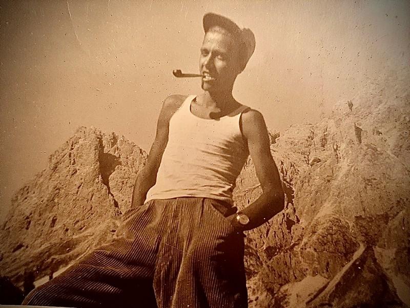Anteprima foto Papà sui cròzzi.