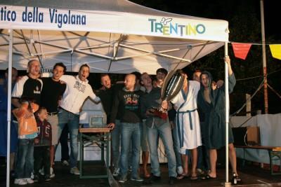 La premiazione della scorsa edizione vinta dal Persen Vending