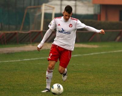 Ricki Fiamozzi in azione con la maglia del Varese