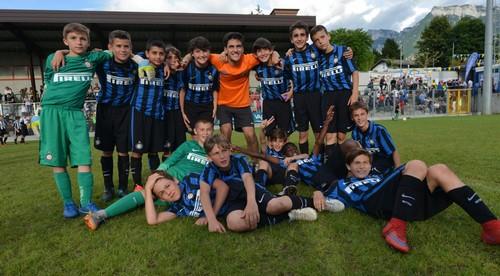 La formazione Pulcini dell'Inter, vittoriosa nella scorsa edizione del Pulcino d'Oro