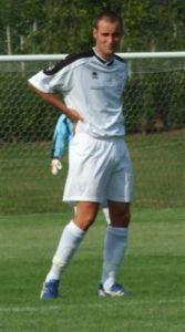 Roberto durante una partita