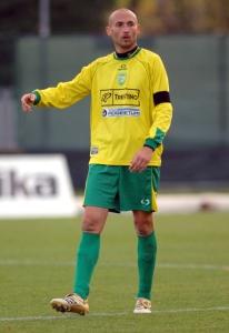 Flavio Toccoli durante una partita