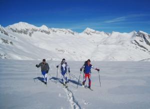 Sopralluogo del percorso Adamello Ski Raid