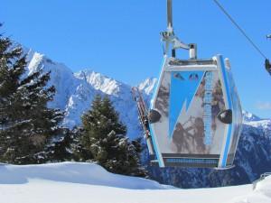 La telecabina personalizzata Adamello Ski Raid