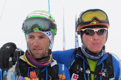 I vincitori Eydallin e Reichegger