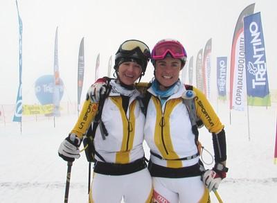 Birgitte Stuffer con Elena Nicolini