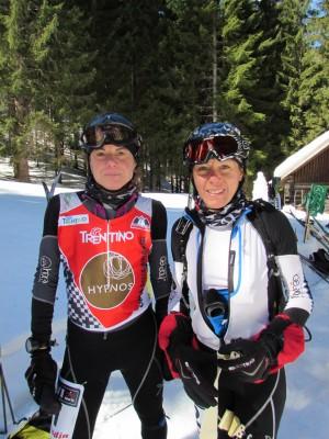 Francesca Martinelli e Roberta Pedranzini (foto Merlo)