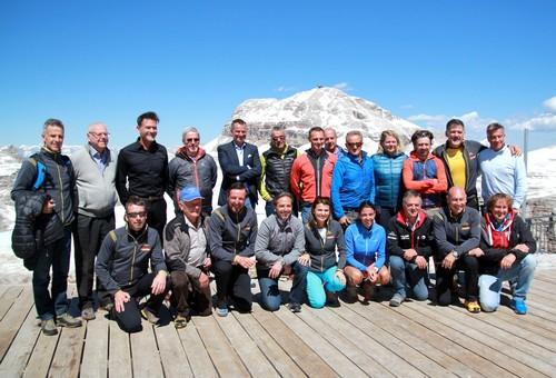Presentazione sulla Terrazza Dolomiti