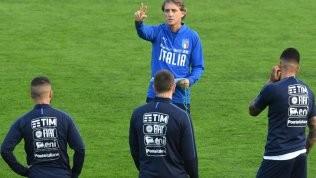 Mancini catechizza la squadra