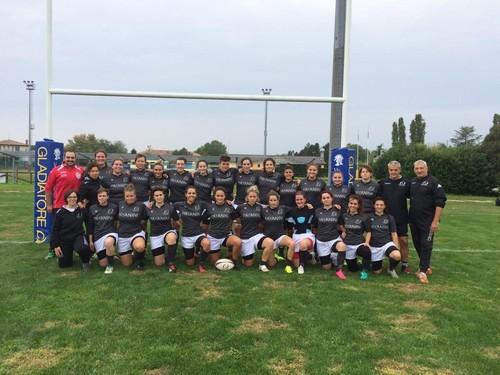 Il Verona girls con le atlete di Verona, Vicenza e Lagaria