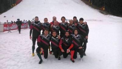 Nuova foto di gruppo per i giocatori delle Marmotte