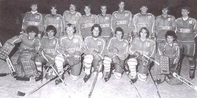 Hockey Pergine   foto ufficiale stagione 1983-1984