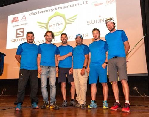Il team del Comitato Organizzatore dell'Ultra Trail