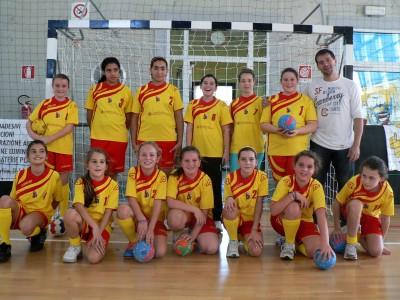 La giovanissima squadra Under 14 della Garibaldina