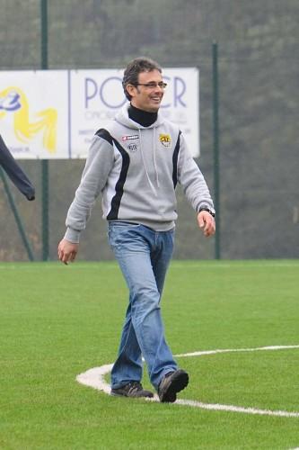 Paolo Zasa felice dopo una vittoria: una scena vista tante volte nel triennio appena concluso
