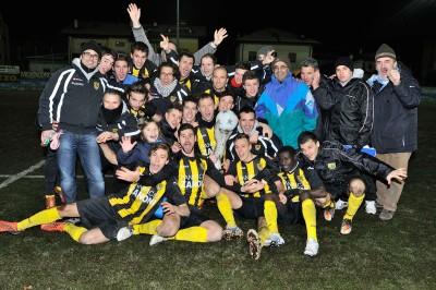 Il trionfo in Coppa Italia regionale del dicembre 2012
