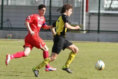 Mattia Poletti ha sfiorato il gol del possibile pareggio