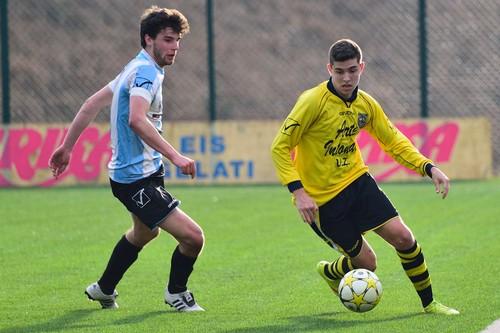 Il match winner Alessio Bosetti