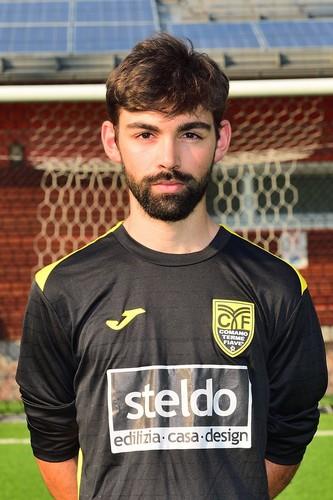 Federico Lorenzi, uno dei protagonisti della vittoria giallonera