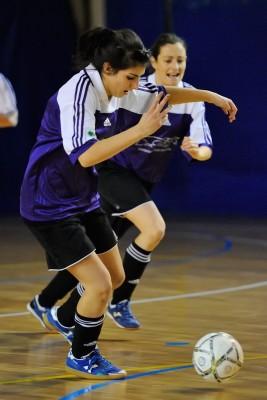 Barbara Leonardi, selezionata per la Rappresentativa di futsal femminile © Foto Maurizio Corradi