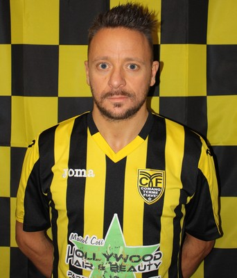 Salvatore Mele, due gol nel match con il Rotal Rovereto