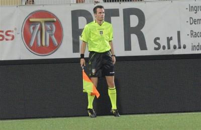 Stefano Bellutti in azione nella serie cadetta