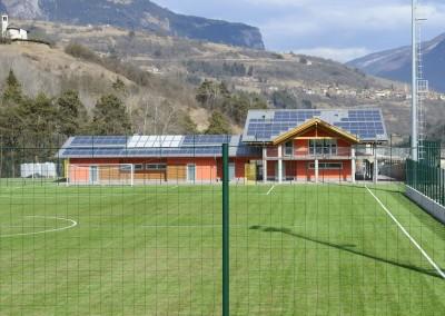 Una veduta del campo sportivo di Rotte © Foto Maurizio Corradi