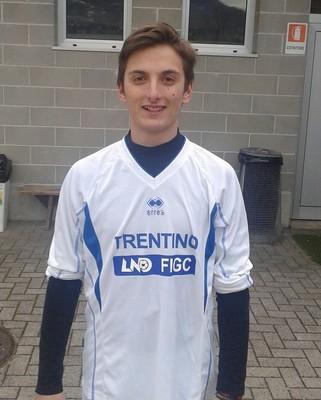L'allievo Francesco Trentini è stato convocato per la seconda volta consecutiva in Rappresentativa