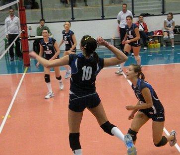 Alessia Sega in attacco