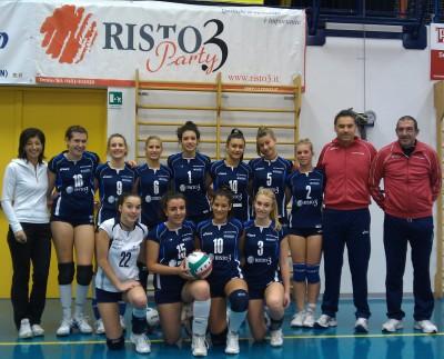 La formazione della Risto3 Volano Volley 2012-13