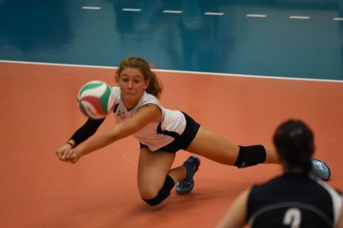 Nel match di sabato, spazio anche per il 2° libero, la giovanissima Gaia Paternoster