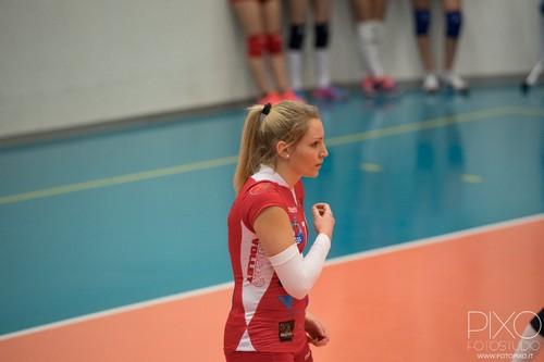 Chiara Candio, questa a Volano è la sua prima stagione da libero titolare