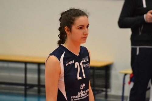 Emma Galbero, classe 2001, laterale dell'under 16a