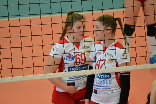 Arianna Zambelli e Cecilia Torboli dell'U16A