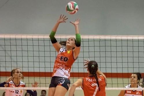 Elena Bortolot con la casacca di Iseo Pisogne, stagione 2018/19