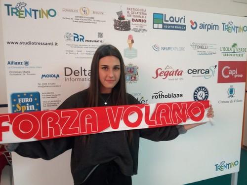 Nicole Ianeselli, classe 2001, farà parte del roster 2020/21 di Volano Volley