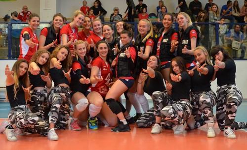 Un binomio sempre vincente ed entusiasmante quello che lega il Volano Volley alle ragazze dell'Alpha Crew