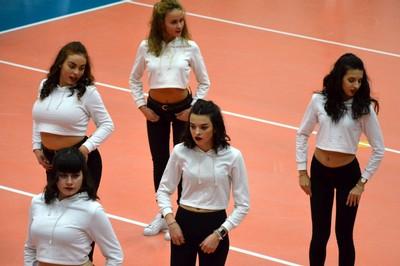 Le ragazze Alpha Crew torneranno a vivacizzare ed intrattenere il pubblico di via Zucchelli nelle pause del match