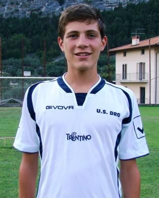 Il capitano della formazione juniores Riccardo Pellegrini