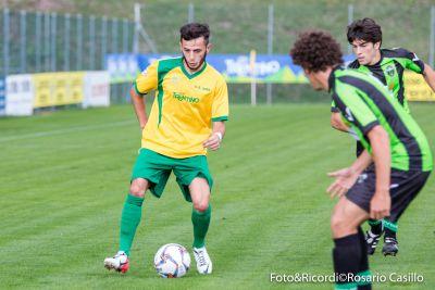 Samir Ajdarovski è andato più volte vicino al gol © Foto&Ricordi
