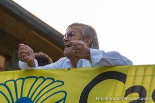 Il presidente gialloverde Loris Angeli