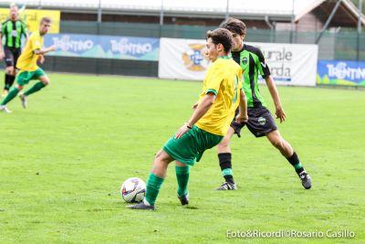 Il centrocampista gialloverde Omar Ruaben