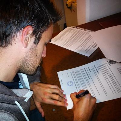 Amedeo Calliari firma il suo ritorno al Mori Santo Stefano