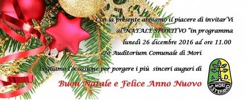 Auguri Di Natale Per Sportivi.Mori S Stefano