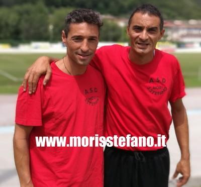 Davide Montagni in compagnia di Davide Zoller