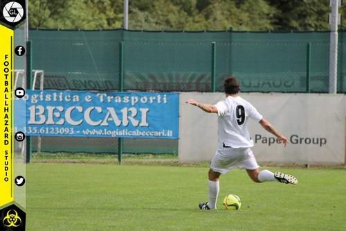 Marco Canali ha chiuso il match siglando la rete del due a zero in zona Cesarini (Foto a cura di FootballHazard Studio)